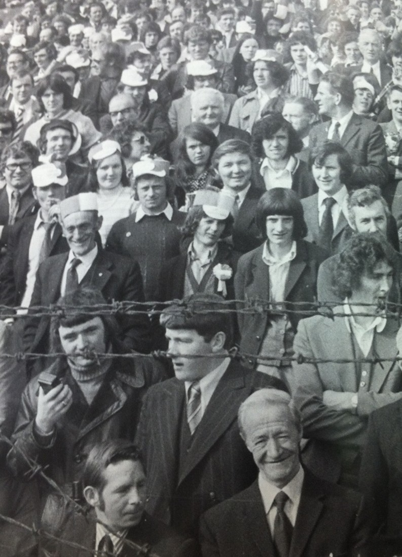 A huge crowd was at Dalymount Park for the final.
