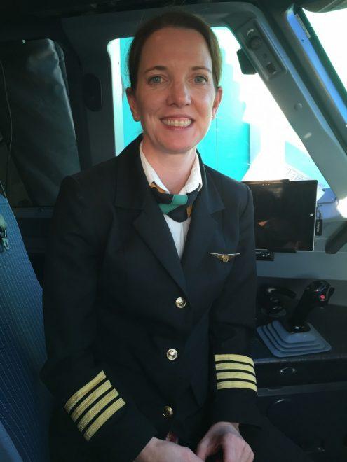 Aer Lingus pilot Helena Mulroe.