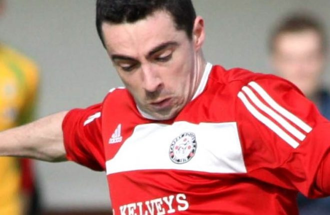 Cappry Rovers' Benny Mc Laughlin.